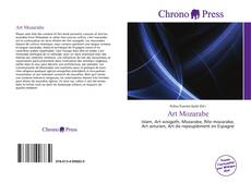 Bookcover of Art Mozarabe