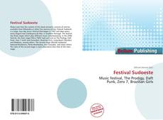 Bookcover of Festival Sudoeste