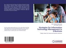 Couverture de Strategies for Information Technology Management in e-Business