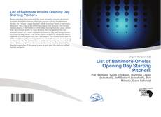 List of Baltimore Orioles Opening Day Starting Pitchers的封面