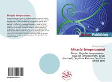Bookcover of Miracle Temperament