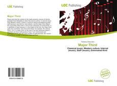 Capa do livro de Major Third