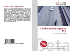 Bookcover of South Carolina Highway 333