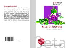Bookcover of Rationale (Clothing)