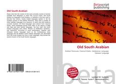 Bookcover of Old South Arabian