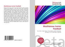 Couverture de Washtenaw Junior Football