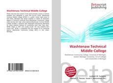 Couverture de Washtenaw Technical Middle College