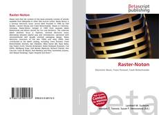 Bookcover of Raster-Noton