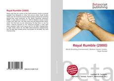 Bookcover of Royal Rumble (2000)