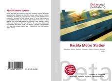 Rastila Metro Station kitap kapağı