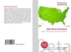 Couverture de Old Three Hundred