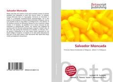 Portada del libro de Salvador Moncada