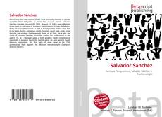 Bookcover of Salvador Sánchez