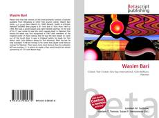 Portada del libro de Wasim Bari
