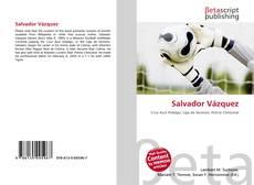 Portada del libro de Salvador Vázquez