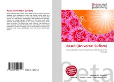 Bookcover of Rasul (Universal Sufism)