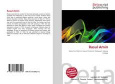 Bookcover of Rasul Amin