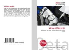 Bookcover of Vincent Meteor