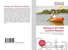 Обложка Rowing at the 1984 Summer Olympics