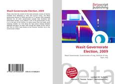 Couverture de Wasit Governorate Election, 2009