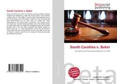 Couverture de South Carolina v. Baker