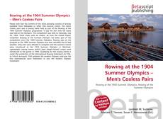 Couverture de Rowing at the 1904 Summer Olympics – Men's Coxless Pairs