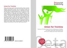 Обложка Union for Trentino