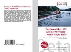 Couverture de Rowing at the 1912 Summer Olympics – Men's Single Sculls