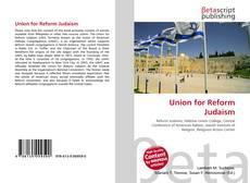 Portada del libro de Union for Reform Judaism