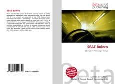 Capa do livro de SEAT Bolero