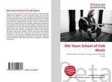 Bookcover of Old Town School of Folk Music