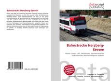 Portada del libro de Bahnstrecke Herzberg-Seesen