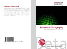 Bookcover of Pavement Discography