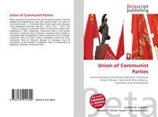 Buchcover von Union of Communist Parties
