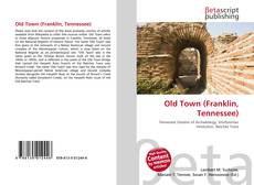 Bookcover of Old Town (Franklin, Tennessee)