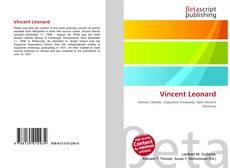 Vincent Leonard kitap kapağı