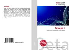 Bookcover of Salvage 1