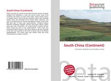 Bookcover of South China (Continent)