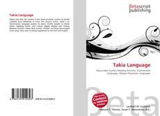 Buchcover von Takia Language