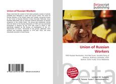 Bookcover of Union of Russian Workers