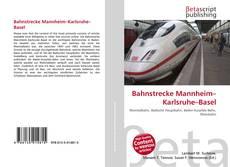 Обложка Bahnstrecke Mannheim–Karlsruhe–Basel