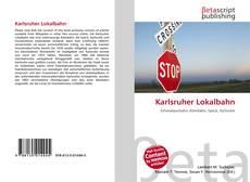 Buchcover von Karlsruher Lokalbahn