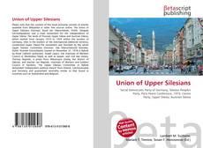 Buchcover von Union of Upper Silesians