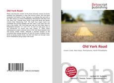 Buchcover von Old York Road
