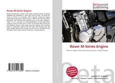 Обложка Rover M-Series Engine