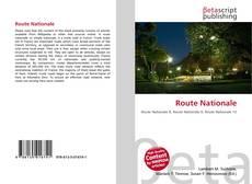 Portada del libro de Route Nationale