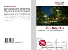 Bookcover of Route Nationale 5