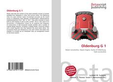 Bookcover of Oldenburg G 1
