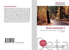 Portada del libro de Route Nationale 9