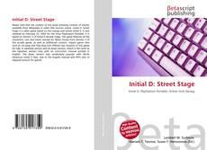 Couverture de Initial D: Street Stage